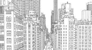 Steve McDonalds Fantastic Cities A Colouring Book Of Amazing Places Real And Imagined Features Stunningly Detailed Cityscapes That Will Take You On