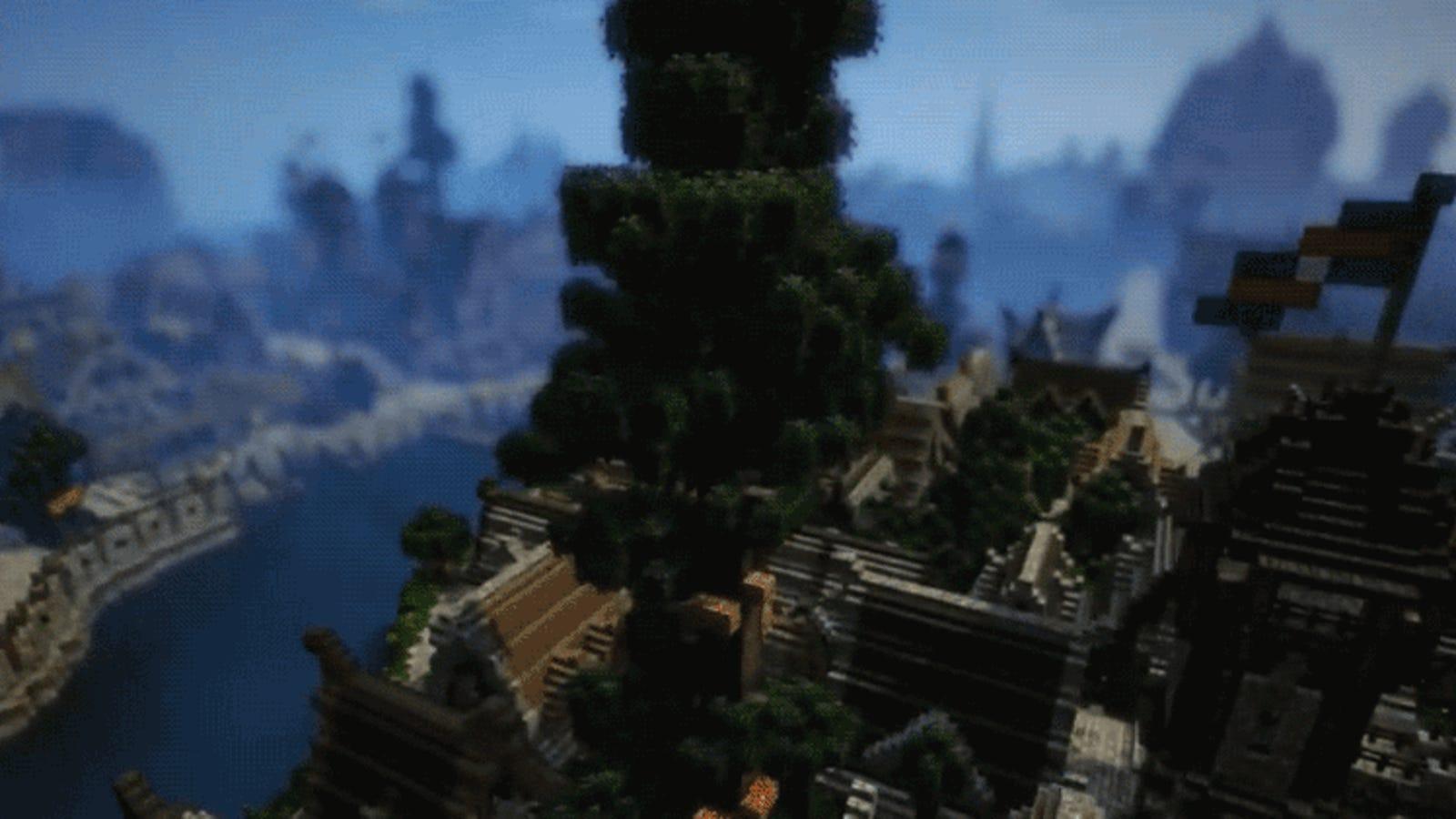 Hicieron falta una persona y cuatro años de trabajo para terminar este gigantesco mapa de Minecraft