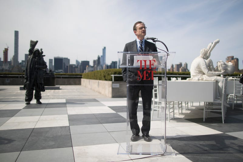 Met Museum president Daniel Weiss is standing on top of a $2.9 billion endowment. (AP)