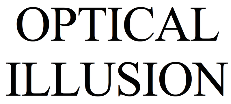 Illustration for article titled The Famous Optical Illusion Hidden in Every Typeface—Including This One