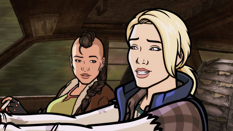 Illustration for article titled Cassius and Clay,the Post-Apocalyptic Cartoon from the Archer Team, Is No More