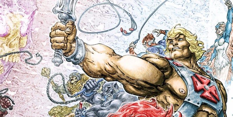 Uno más del 2016: He-Man murió a mano de sus enemigos