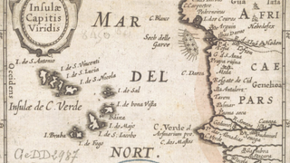 Ancient map of Cape VerdeWikimedia Commons