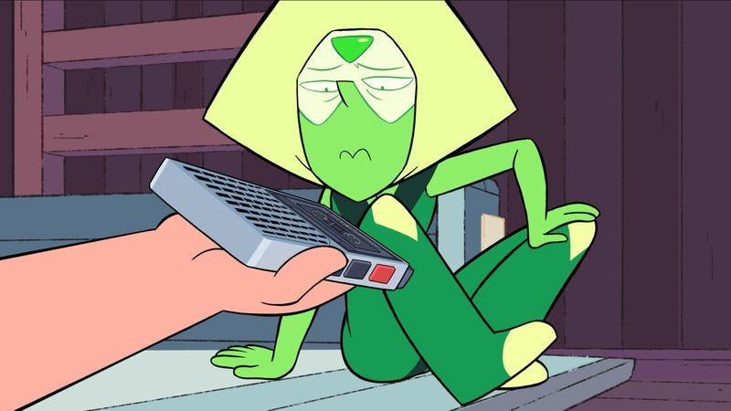 Illustration for article titled Steven Universe catches up with Peridot in a lovely episode