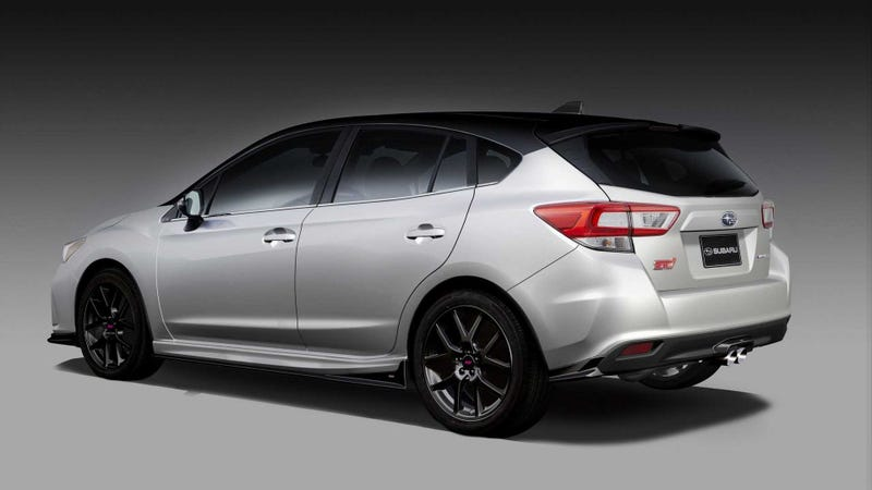 Subaru Hatchback Old >> The Subaru Impreza STI Concept Doesn't Look Like It'll Be the Fast AWD Hatch We All Want
