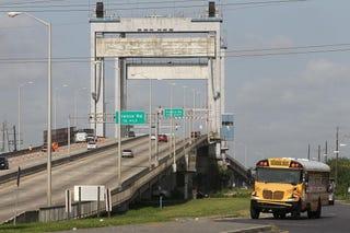 The infamous Danziger bridge in New Orleans