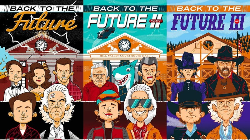 Celebrate All Three Back To The Future Movies With This Delightful