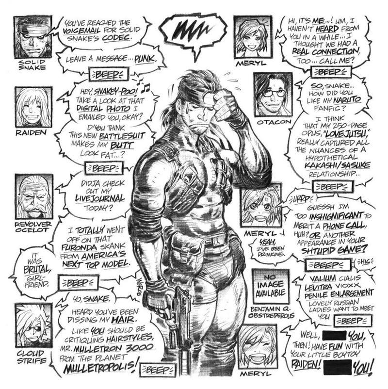"Illustration for article titled ""Snake? SNAAAKE?!"""