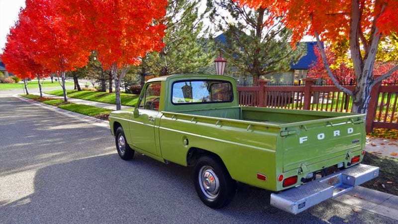 you could buy this classic ford micro truck for the price of a boob job. Black Bedroom Furniture Sets. Home Design Ideas