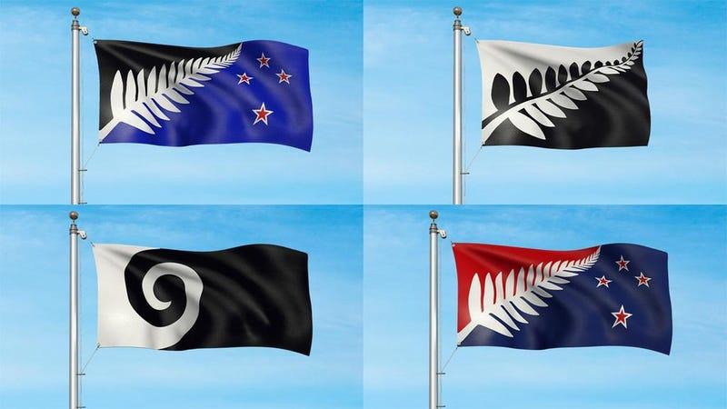 Illustration for article titled Új-Zélandé lehet a világ legkirályabb zászlaja