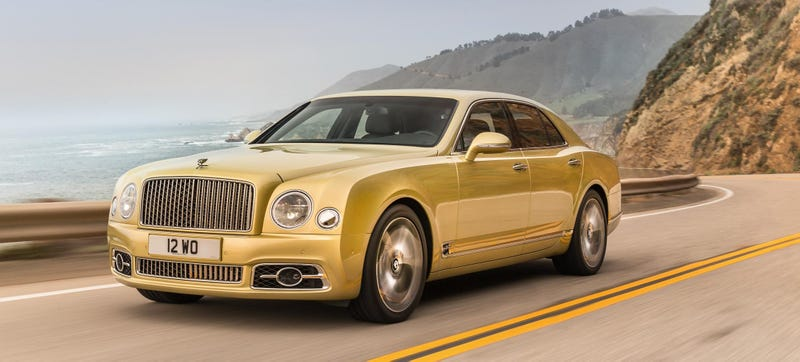 Illustration for article titled The Bentley Mulsanne Got A New Face And It Looks Great Now