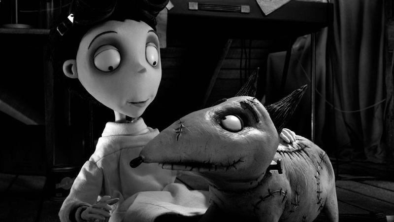 Illustration for article titled Frankenweenie