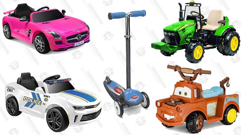 Ride-On Toys |  $39+ | Amazon