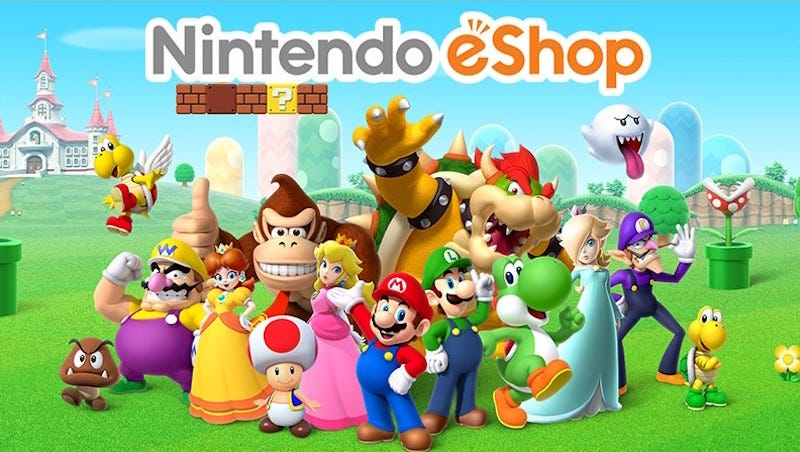 Illustration for article titled The Switch's Day One Update Adds A Spartan eShop And Dreaded Friend Codes [Update: Good News!]