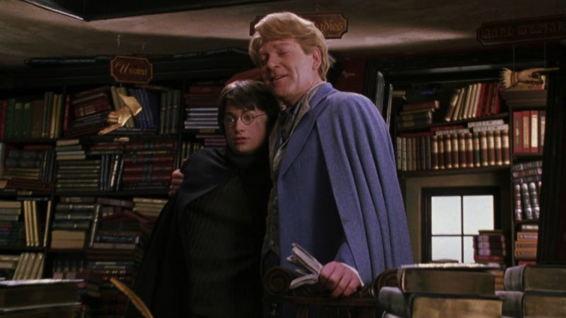 Gilderoy is the neural network in this situation (Image: Harry Potter and the Chamber of Secrets, WB)