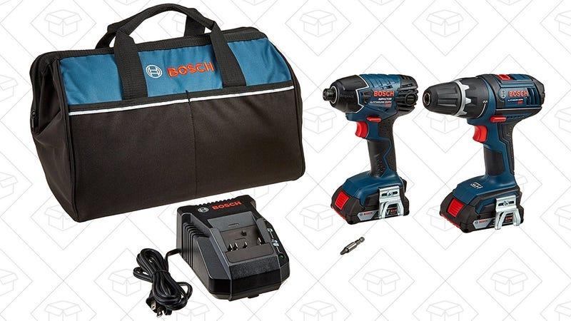 Bosch 18V 2-Tool Combo Kit, $129