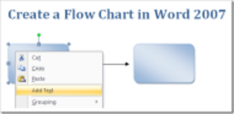 process flow template word