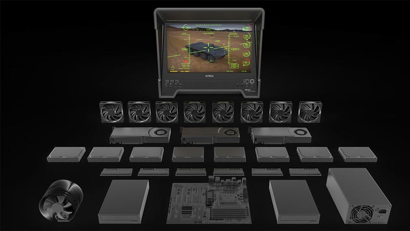 Illustration for article titled Because You Always Wanted A PC That Looked Like A Drone Terminal