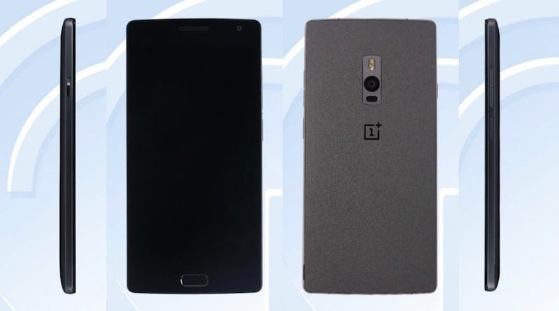 Illustration for article titled Un primer vistazo al OnePlus 2 revela su diseño y un lector de huellas