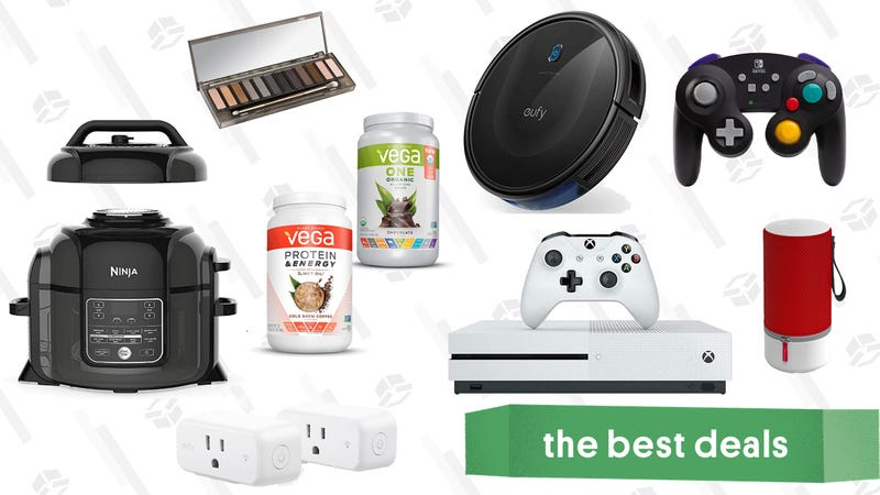 Illustration for article titled Friday's Best Deals: Qt. Ninja Foodi, Clear the Rack, Anker RoboVac, and More