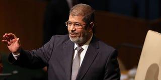 President Mohamed Morsi (Spencer Platt/Getty Images)