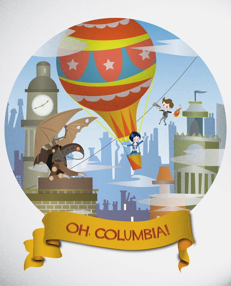 Illustration for article titled Bioshock Infinite's Columbia has never looked this adorable