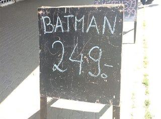 Illustration for article titled Olcsóér' a Batman!