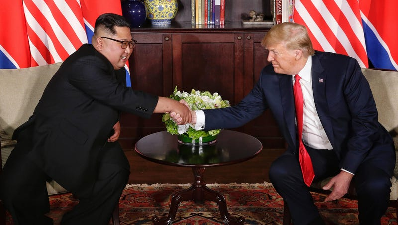 Illustration for article titled Master Dealmaker: Donald Trump Negotiated With Kim Jong-Un To End The U.S.'s Nuclear Weapons Program In Exchange For Reduced Sanctions On North Korea