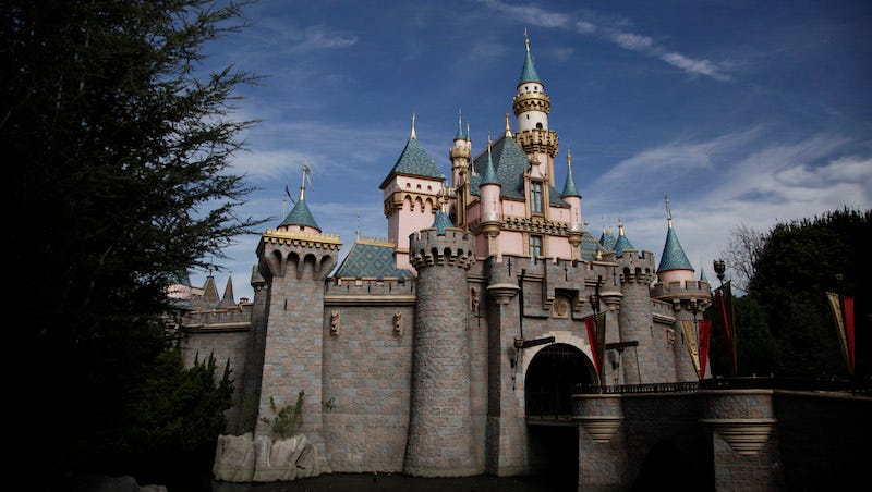 Image: Sleeping Beauty's Castle, Disneyland, AP Photo/Jae C. Hong