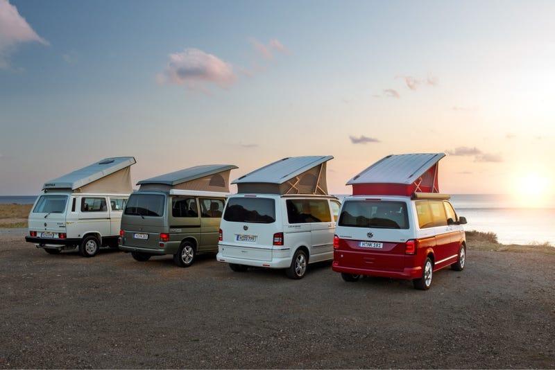 Illustration for article titled VW Campers