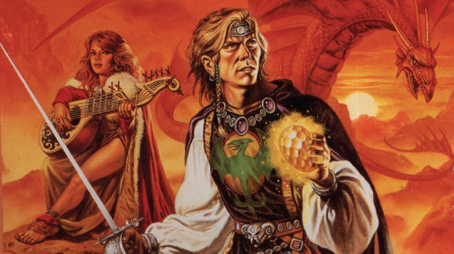 Dungeons & Dragons & Novels: Revisiting The Wyvern s Spur