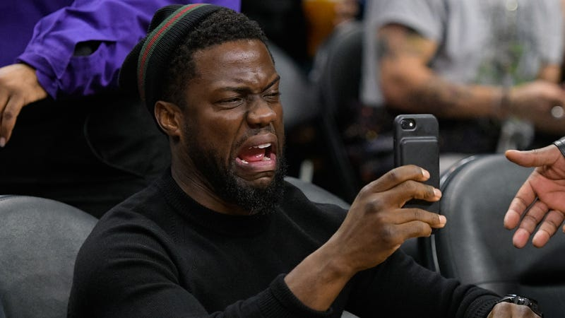 No one is sadder about this news than Kevin Hart. (Photo: Noel Vasquez/Getty Images)