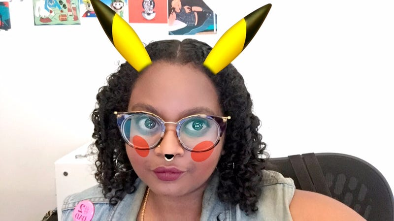 Illustration for article titled Snapchat Now Has A Pikachu Filter