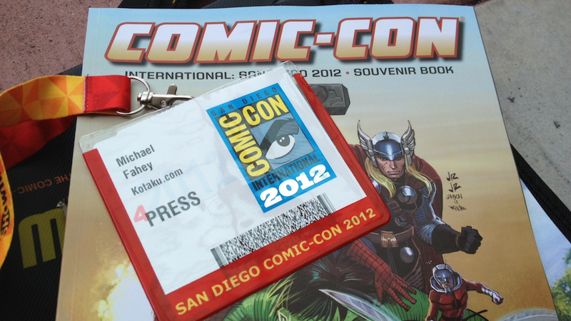 Illustration for article titled On the Ground at Comic-Con