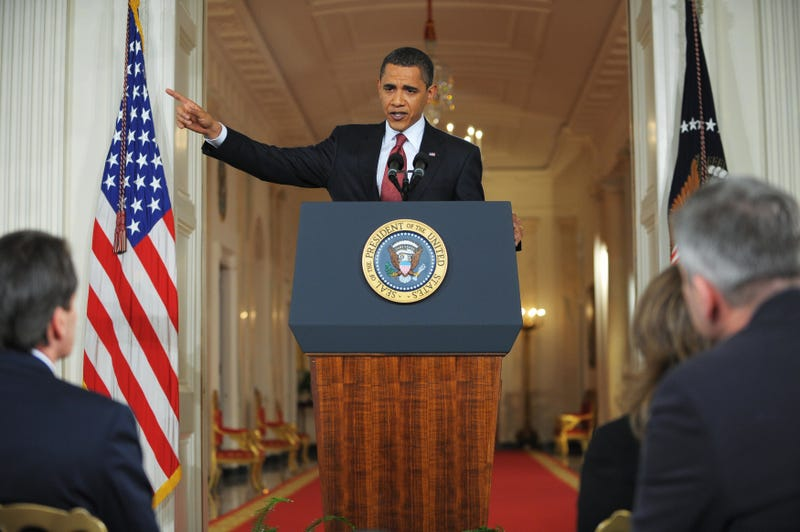 Illustration for article titled Obama's Second Presser Keeps Progressive Pressure On