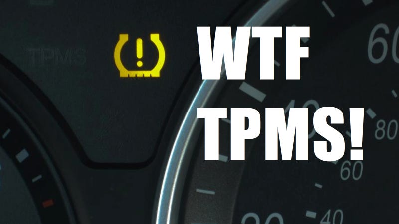 tire pressure light    useless warning light