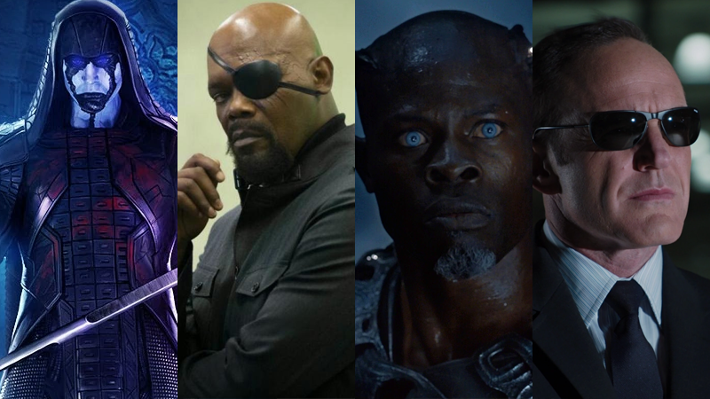 Ronan, Nick Fury, Korath, and Phil Coulson will all be returning in Captain Marvel.
