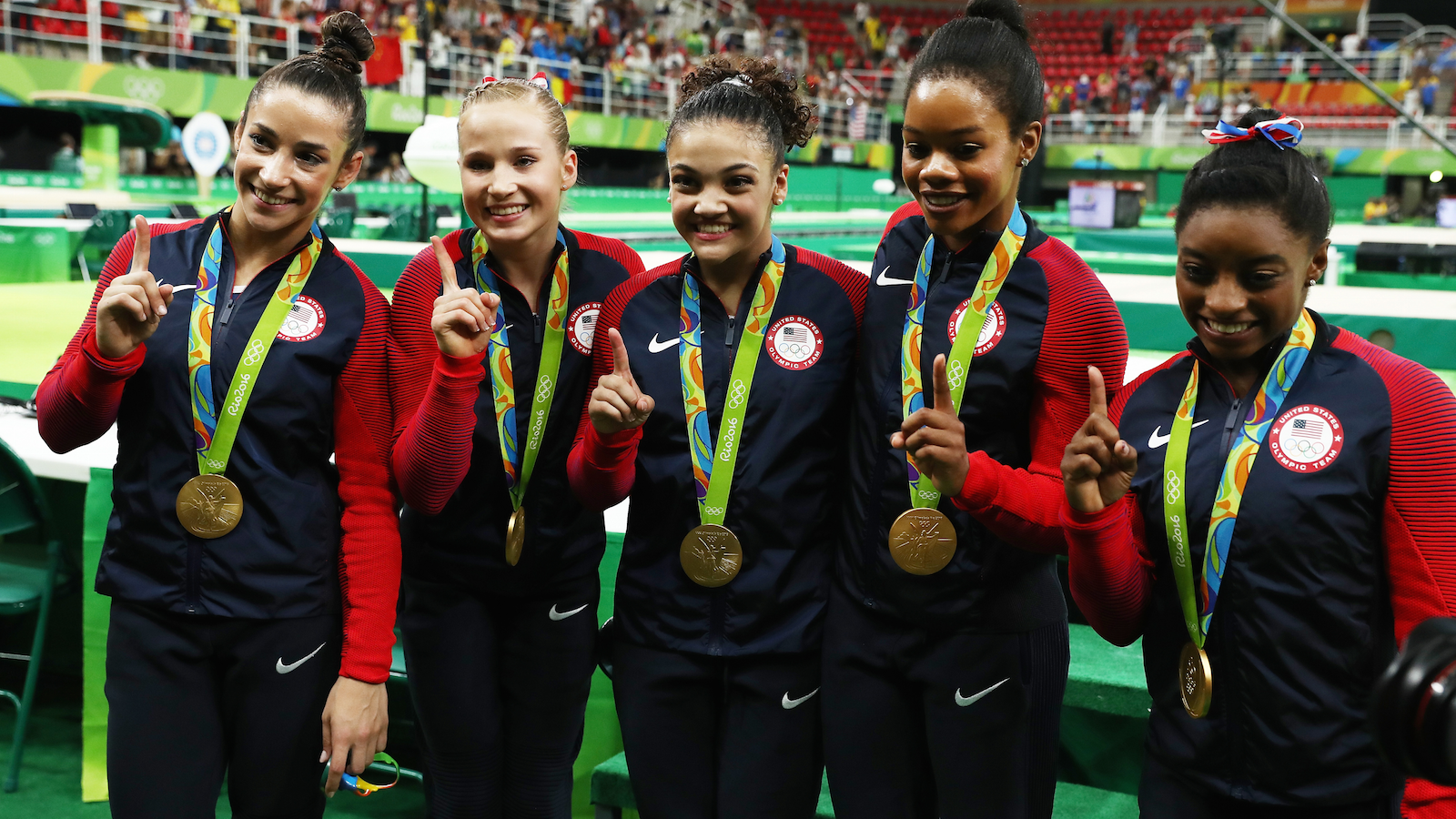 Team Usa A K A The Final Five Win Their Expected Gold