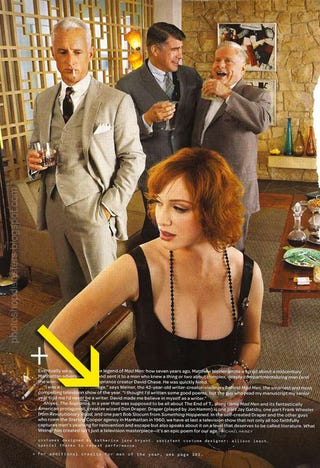 Illustration for article titled Another Christina Hendricks Photoshop: Just A Pair Of Tits And A Pretty Face