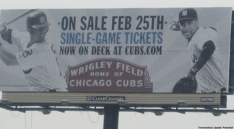Illustration for article titled Cubs Using Jeter, Pujols To Sell Tickets