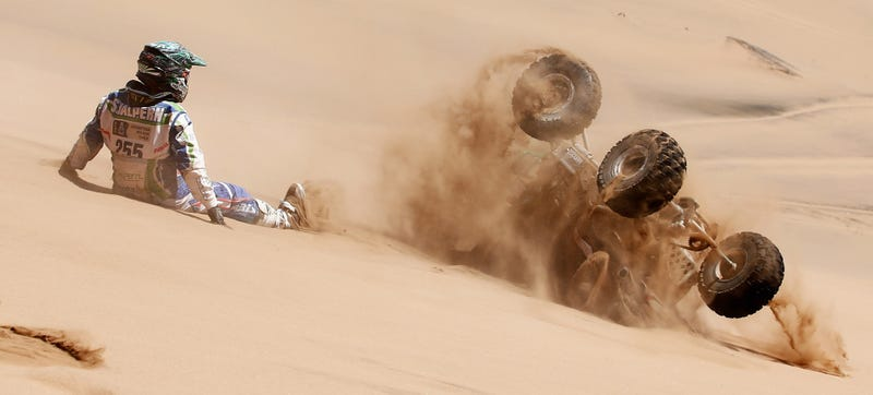 Illustration for article titled The Best Pictures Of Dakar Rally: Day 4