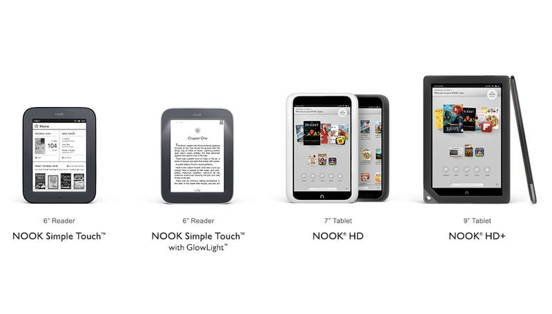 Illustration for article titled Report: Microsoft Wants to Buy Nook for $1 Billion