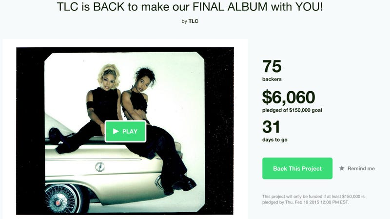Illustration for article titled TLC Launches a Kickstarter to Fund Their Final Album