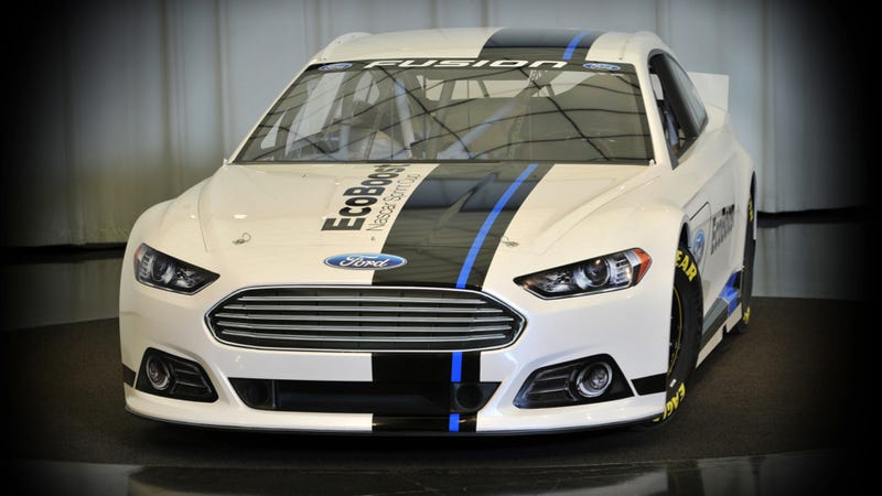 Illustration for article titled Nascar's New Ford Fusion Is One Sweet-Ass Stock Car