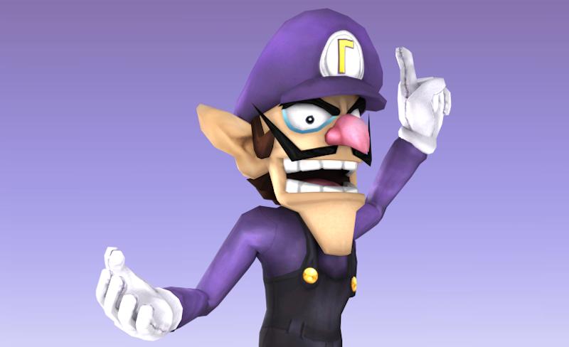 Wahaha, Smash Bros  Players Mod Waluigi Into Brawl