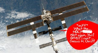 Illustration for article titled NASA Adds Smell Detector To Space Station, Insert Fart Joke Here
