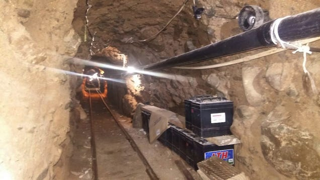 Why This Suburb Is the Best Place to Build a Drug-Smuggling Tunnel