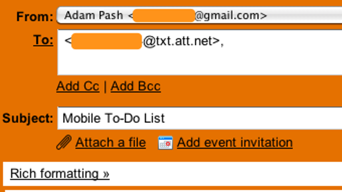 How Can I Send an Email via Text Message?
