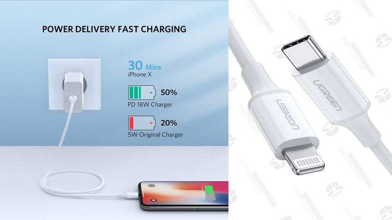 UGREEN 3' MFi-Certified USB-C to Lightning Cable | $6 | Amazon Prime | Promo code UGREEN493. $7 for non-Prime members