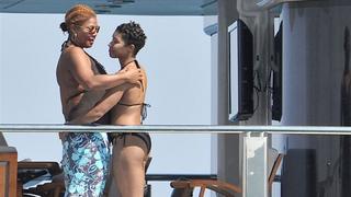 Queen Latifah and rumored partner Jeanette Jenkins